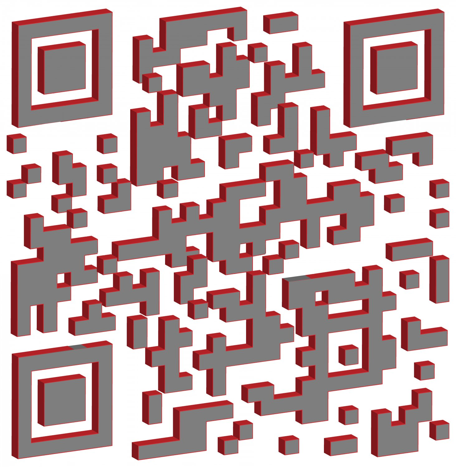 - This 3D QR has been tilted to expose its edges. -  - Art and the Zen of QR Codes - QaRt - making art from QR codes. - - art  - photography - by Tony Karp