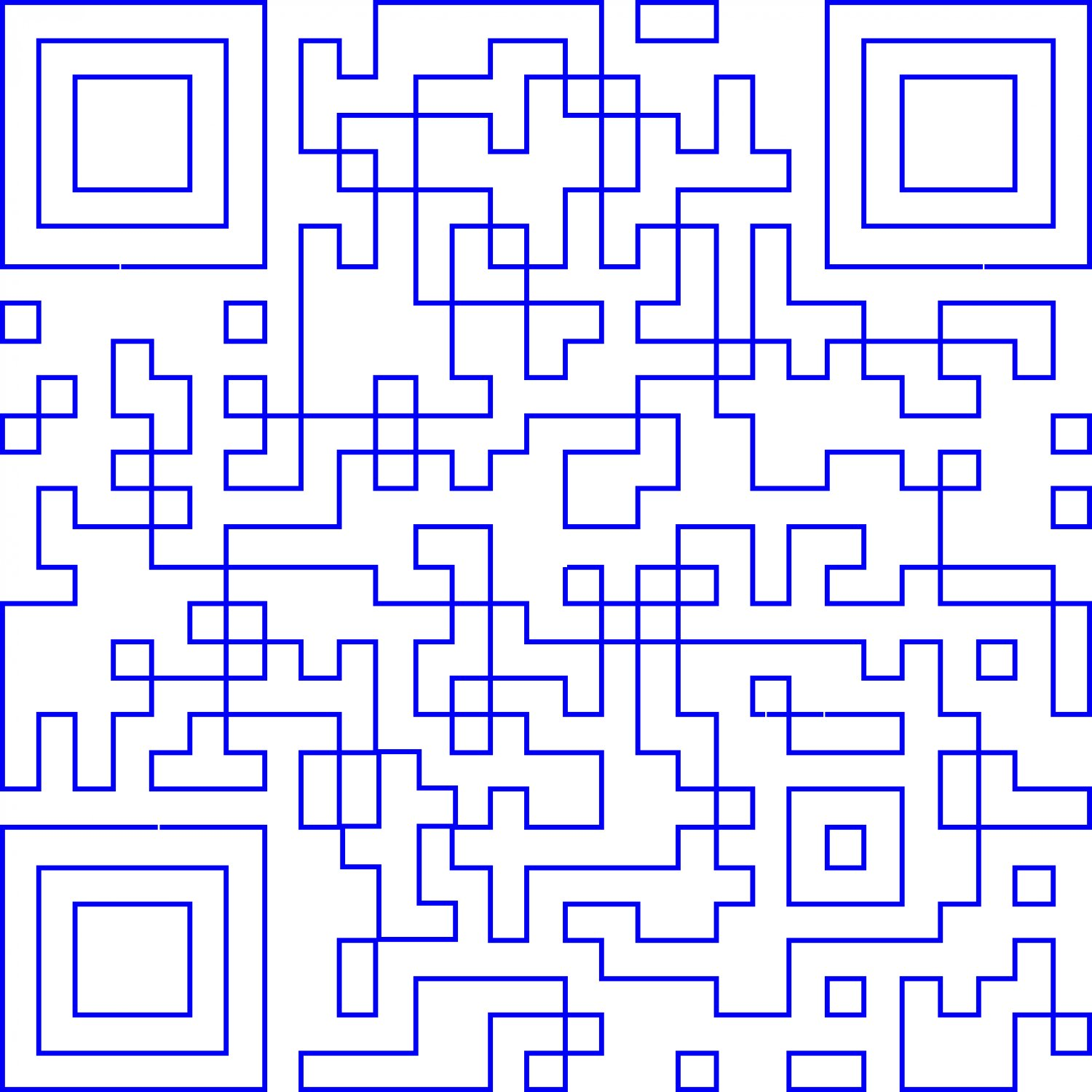 - A minimalist QR code. Only the outlines remain, -  - Art and the Zen of QR Codes - QaRt - making art from QR codes. - - art  - photography - by Tony Karp