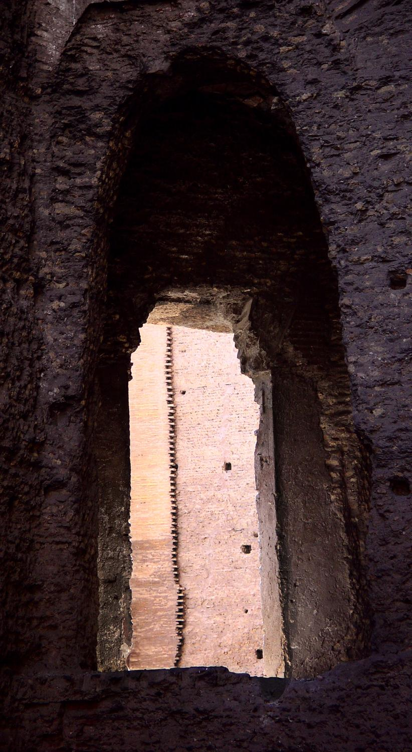 - A detail at the baths of Caracalla - A trip to Rome - by Tony Karp - Rome - Vatican - Gubbio - Viterbo - Spoleto - - - art  - photography - by Tony Karp