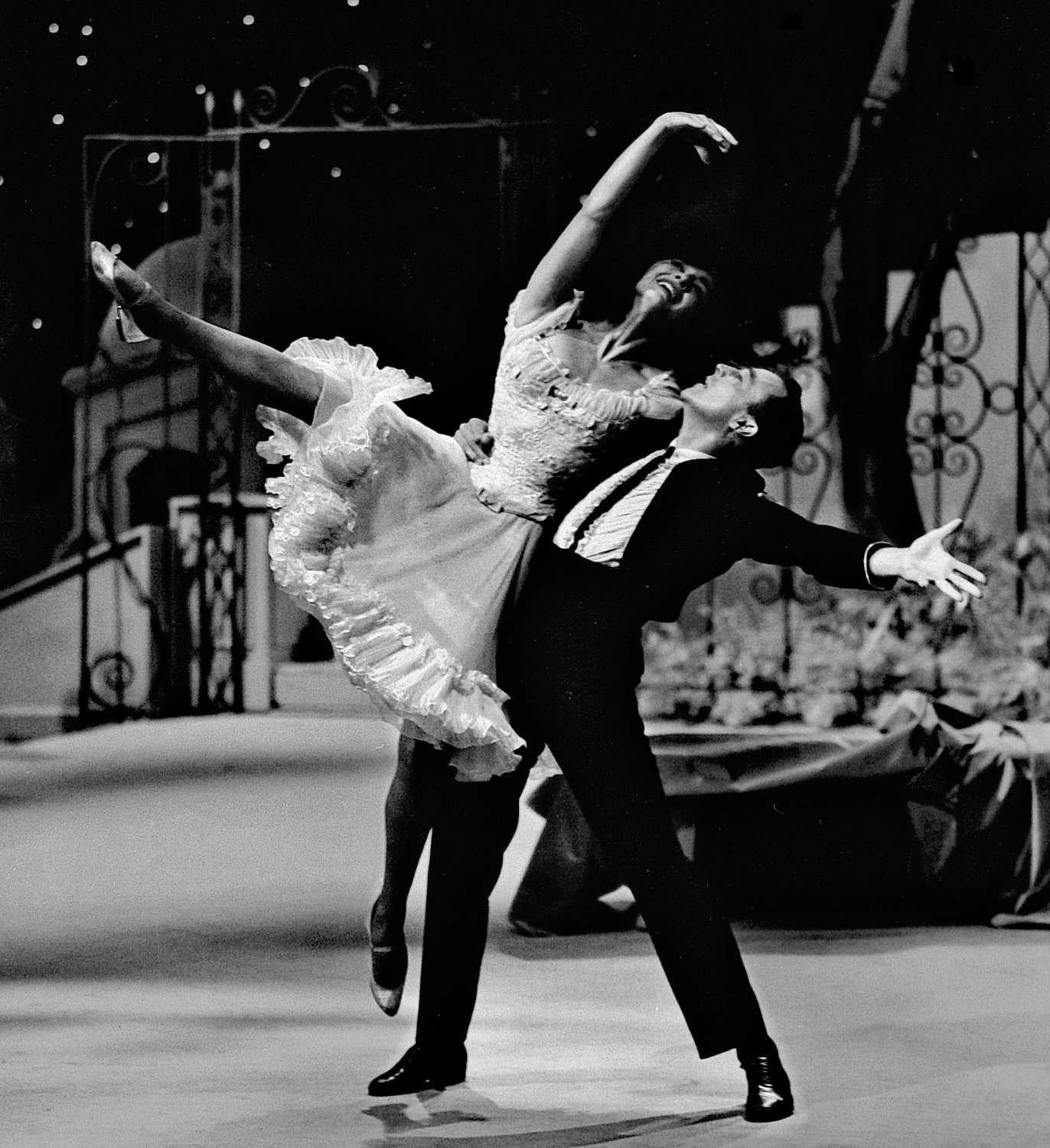 - Gene Kelly dancing with Carol Lawrence - Gene Kelly, Donald O'Connor, and Carol Lawrence -photography for NBC TV - - - art  - photography - by Tony Karp