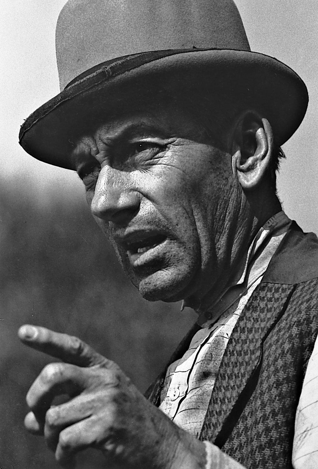 - Hoagy Carmichael in a character role on Laramie. - Photojournalism - Life Magazine - NBC TV - - art  - photography - by Tony Karp