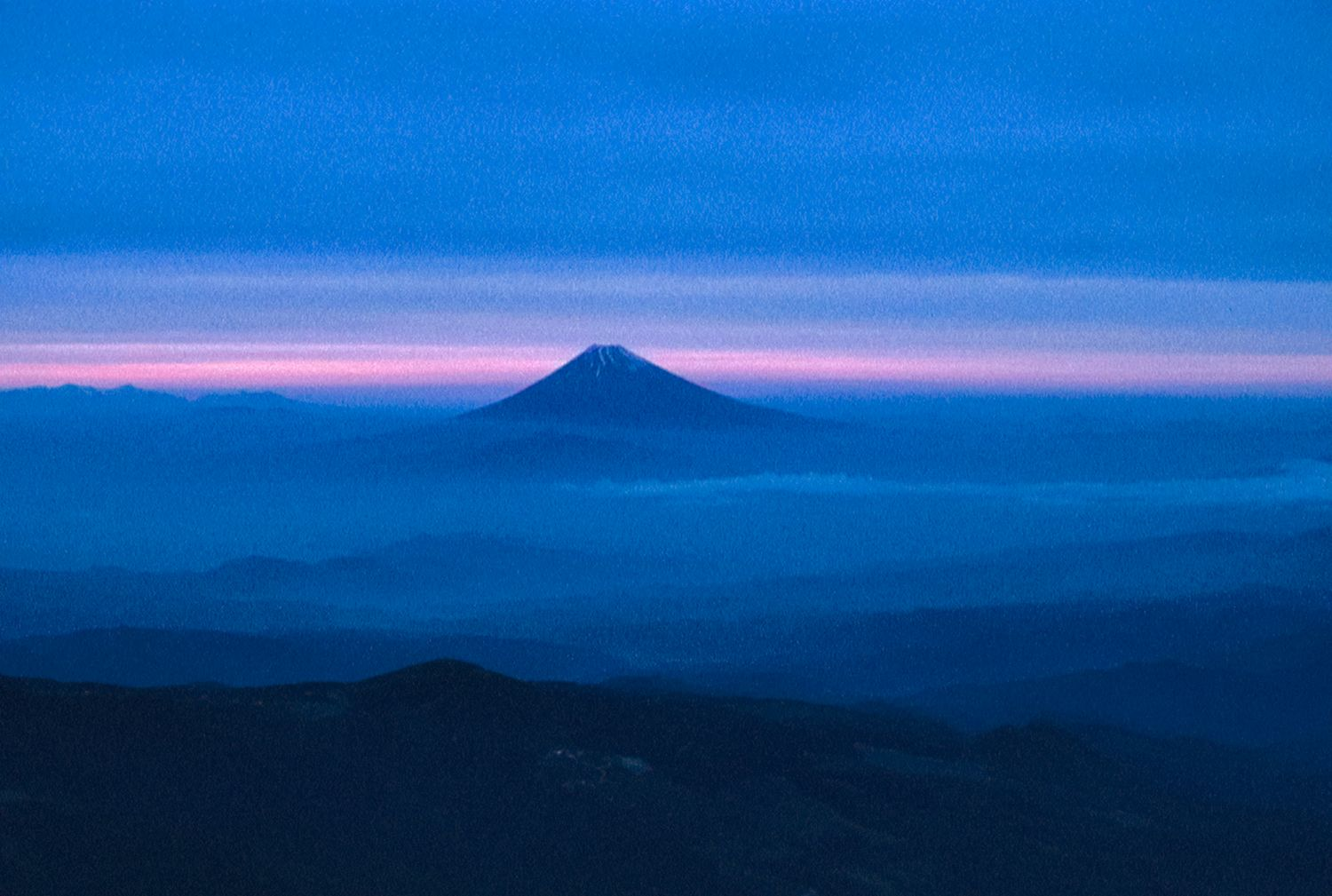 - Mount Fujiyama, Japan,  from the air - - art  - photography - by Tony Karp
