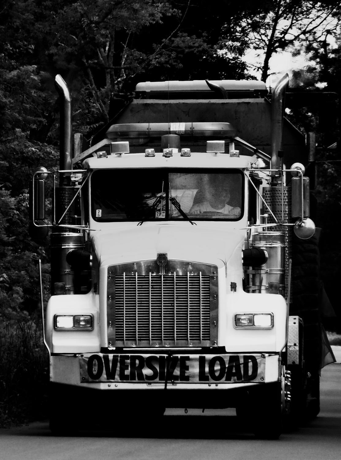 - Here's the truck in dynamic black and white - Panasonic DMC-FZ18 - - art  - photography - by Tony Karp