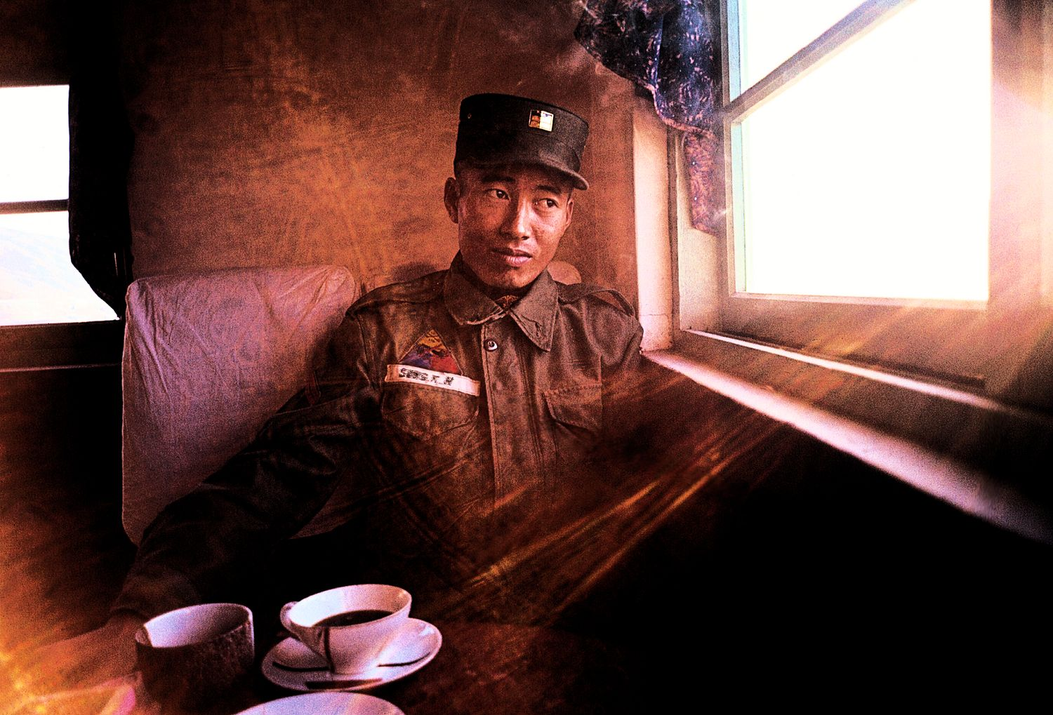 - My friend, Sung Kil Ho, in a Korean teahouse - - art  - photography - by Tony Karp