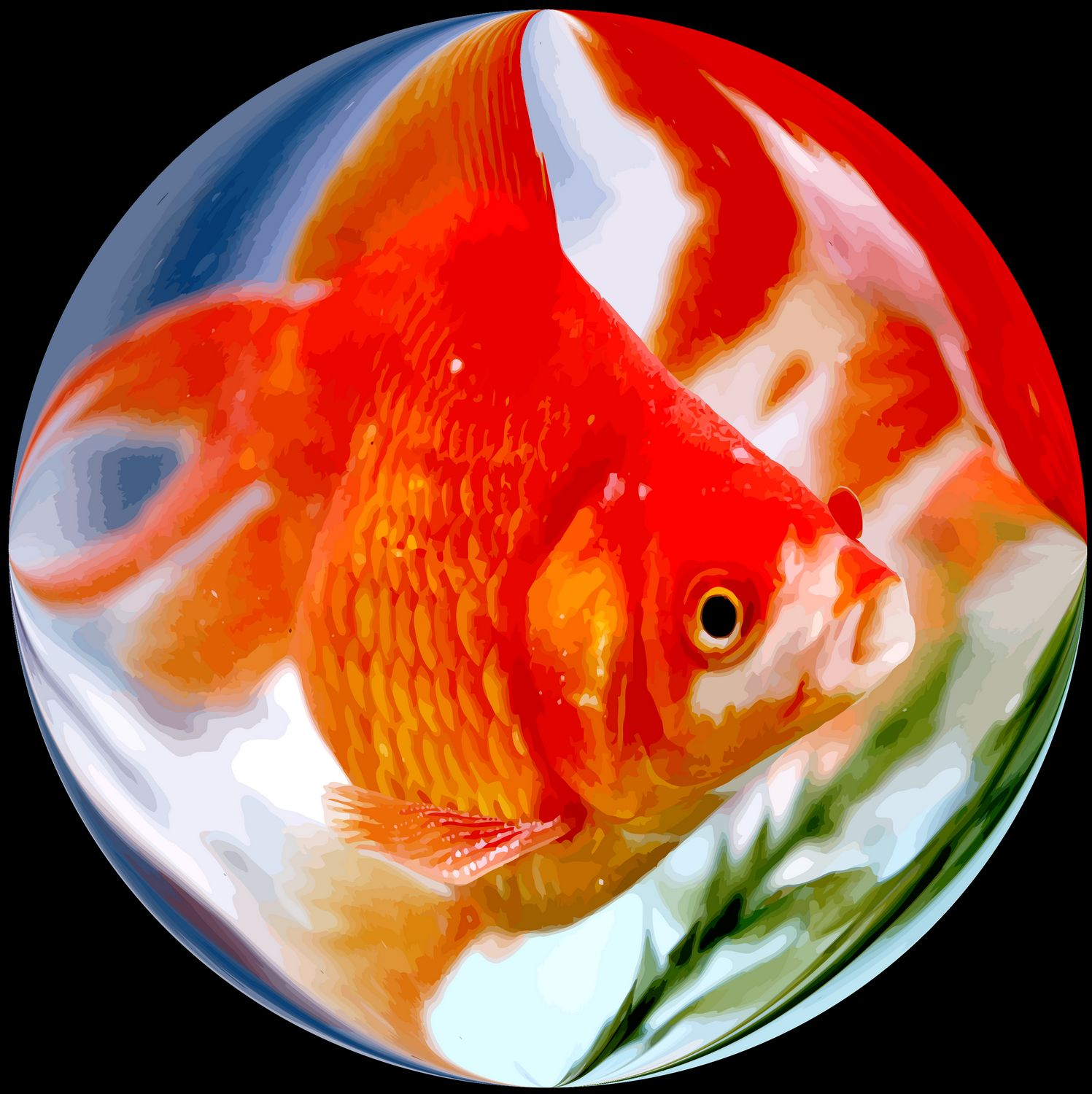 - Tokyo fish in a bubble  - Bubble Pictures - made with Wilkington-Smythe