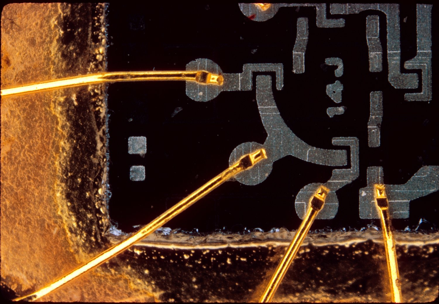 - Macro photo of an integrated circuit - - art  - photography - by Tony Karp